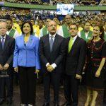 Presidente asiste a graduación de 26,100 técnicos del Infotep