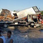 Un muerto, cinco heridos durante la explosión de fábrica en Los Alcarrizos