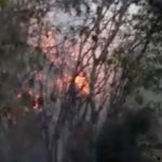 Tres incendios afectan la cordillera Central