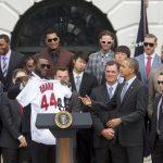 """Expresidente de Estados Unidos Barack Obama a David Ortíz: """"Mejórate pronto, papi"""""""