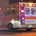 David Ortiz llega a Boston donde lo esperó un fuerte dispositivo médico y de seguridad