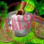 Un té caliente de limón y bicarbonato no elimina el coronavirus